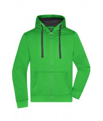 Herren Men's Hooded Jacket Green/carbon 8050