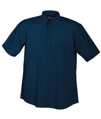 Men Men's Promotion Shirt Short-Sleeved Navy 7525