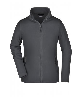 Damen Ladies' Basic Fleece Jacket Carbon 8348