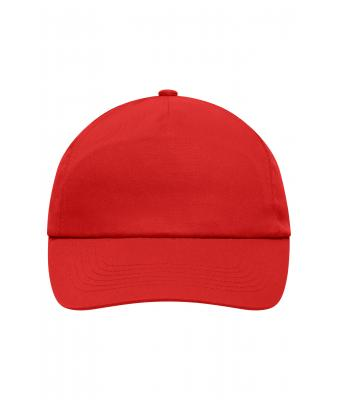 Unisex 5 Panel Promo Cap Laminated Signal-red 7571