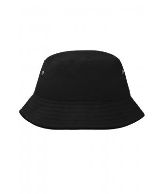 Kids Fisherman Piping Hat for Kids Black/black 7580