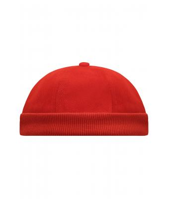 Unisex 6 Panel Chef Cap Red 7588