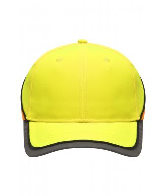Unisex Neon-Reflex-Cap Neon-yellow/neon-orange 7594