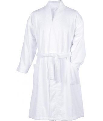 Unisex Microfibre Bathrobe White 7659