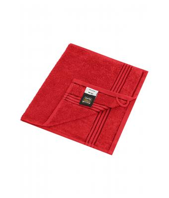 Unisex Guest Towel Red 7662