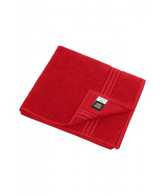 Unisex Bath Towel Red 7664