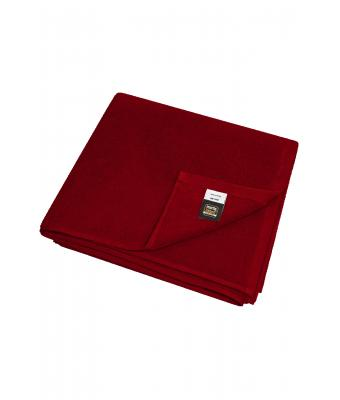 Unisex Bath Towel Burgundy 7670