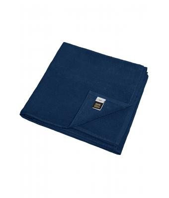 Unisex Beach Towel Dark-navy 7671