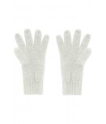 Unisex Knitted Gloves Off-white 7677
