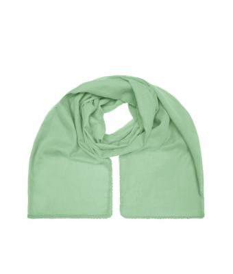 Unisex Cotton Scarf Soft-green 8459