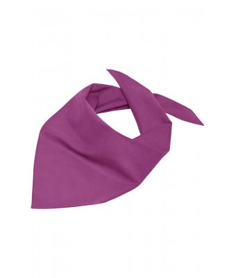 Damen Triangular Scarf Purple 7757