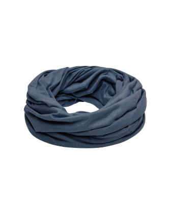 Unisex Heather Summer Loop-Scarf Blue-melange 8128