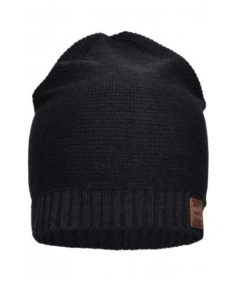 Unisex Cotton Hat Black 8439
