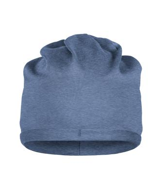 Unisex Bio Cotton Beanie Light-denim-melange 8483