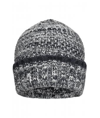Men Men's Melange Beanie Navy/white 8509