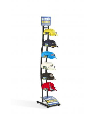 Unisex Cap Rack Black 10393